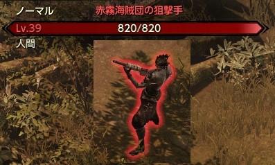 赤霧海賊団の狙撃手