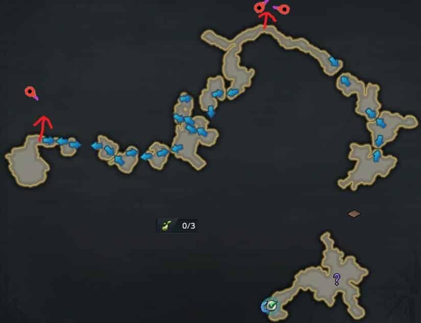 大航海 - 砕けた氷河の島 - モココの種