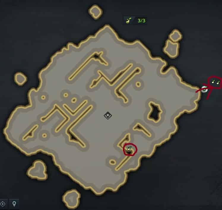 大航海、幻覚の島、モココのタネ