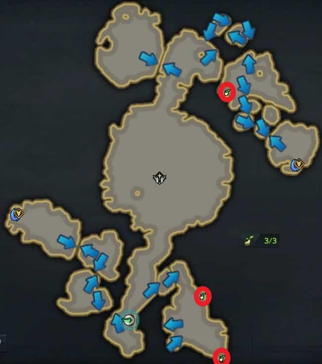 氷と火の島、モココのタネ
